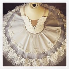 Sneak peek of our next designs!! In store soon @tututwirl #tutuandtwirl #tutudecorations #lace #motifs #ballet #classical #dance