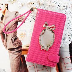 Billa Bon Wallet Case LG G3 Case (F-400/ F460) Mirror Case 4 Colors Mobile Case #Ascar