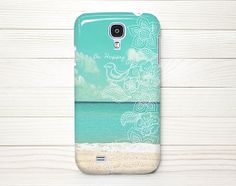 Samsung Galaxy S4 Case, Samung, S4 Case, Samung Galaxy S4 Wrap Around Case - Be Happy Beach - 115 on Etsy, $18.99