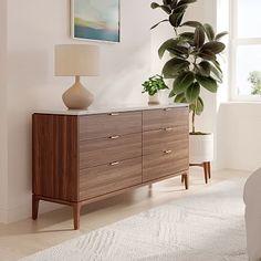 Parker 6-Drawer Dresser #westelm
