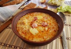 Frankfurt, Cheeseburger Chowder, Cornbread, Food And Drink, Soup, Cooking, Ethnic Recipes, Eat, Millet Bread