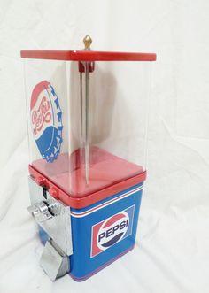 vintage Komet Pepsi cola gumball machine