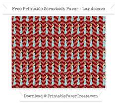 Free Landscape Dark Red Chevron Large Princess Jasmine Pattern Paper - Aladdin
