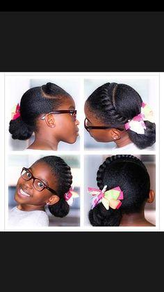 4c twist with ponytail