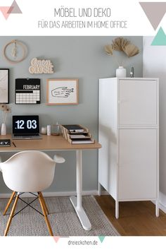 Structure of a study: ideas for the home office - Arbeitszimmer Home Office Decor, Home Decor Bedroom, Diy Room Decor, Appartement New York, Diy Furniture Easy, Office Interiors, New Room, Room Inspiration, Interior Design