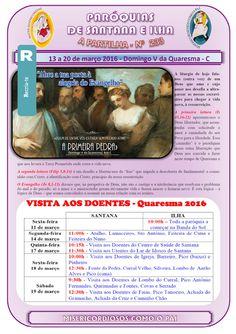 Paróquias de Santana e Ilha: A Partilha nº 233 - 13 a 20 de março de 2016