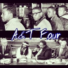 Proud moment in Black History and North Carolina A history. Thank you to the A Four/Greensboro Four. AGGIE PRIDE!
