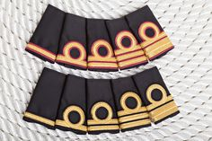 Italian marine epaulettes - yacht uniforms www.crewstyle.it