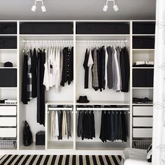 Closet Goals! Black + White everything