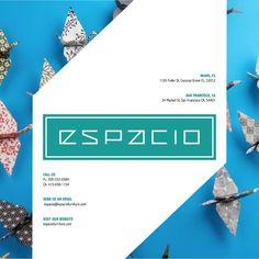 Espacio Brochure by Alexandra Ripoll, via Behance