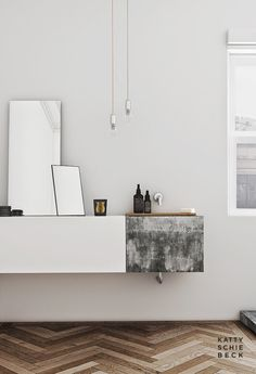 Simplicity and style.   Discover more: www.buffetsandcabinet.com  | #cabinetdesign  #contemporarycabinet #whitecabinet