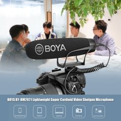 BOYA Lightweight Super Cardioid Video Shotgun Microphone for Smartphone DSLR Cameras Camcorders PC Audio Recording Sales Online black - Tomtop Smartwatch, Apple Technology, Congo Kinshasa, Background Noise, Dslr Cameras, Shotgun, Smartphone, Audio, This Or That Questions