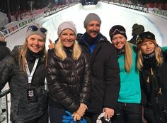 Crown Prince Haakon & Crown Princess Mette Marit visits X-Games 2016 in Oslo