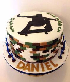 SkateBoard Themed Cake