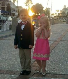 Oh my gosh. This is how my future children will look. They are sooooo adorable and preppy