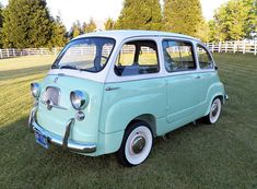 1960 Fiat Multipla - not practical at all for my needs, but it is darn cute, and I would have mine in a cheerful orange or red color. :)