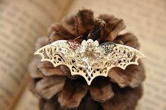 Hey, I found this really awesome Etsy listing at https://www.etsy.com/listing/232862033/5-pcs-raw-brass-plated-silver-bat