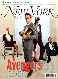 Cómo serían las portadas de las revistas si Los Vengadores fueran reales #comics #cine