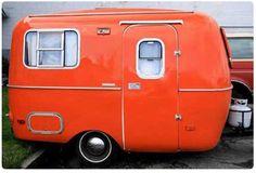orange camper