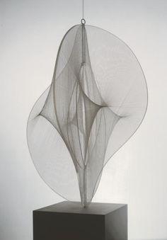 Naum Gabo 'Linear Construction No. 2', 1970–1 The Work of Naum Gabo © Nina & Graham Williams/Tate, London 2014