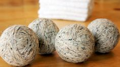 DIY Wool Dryer Balls - Save Time and Energy