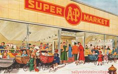 Grocery shopping in the 1950s - Democratic Underground