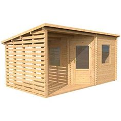 Option - X Large - Garden Sheds and Summerhouses
