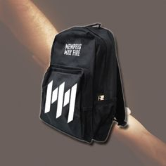 Logo Black Back Pack : RSRC : MerchNOW