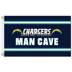 San Diego Chargers Flag Banner US MAN CAVE Flag World Series Football Team Champions 3ft X 5ft San Diego Chargers Banner