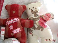 ours patchwork - Photo de Petite couture - So Cosy, le petit monde de Sofie