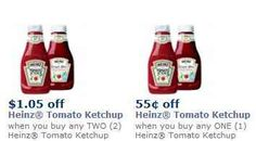 RARE! Heinz Ketchup Coupons!!!   http://www.passionforsavings.com/coupon/2013/07/heinz-ketchup-coupons-as-low-as-0-45/