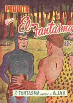FANTASMA, EL (1951, PANAMERICANA) -PAQUITO PRESENTA- 10012 - Ficha de número en Tebeosfera