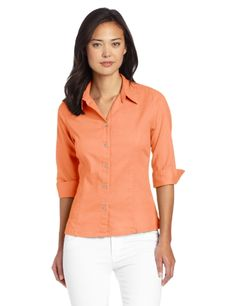 Royal Robbins Womens Cool Mesh 34 Sleeve Shirt Peach Small ** Check out the image by visiting the link.