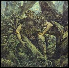 Berstuk- Slavic myth: the god of wildlife and woodlands. He was the chief of the Lesovik.