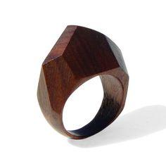 AFRICAN QUEEN wood Ring