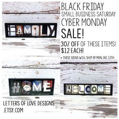 Nice Internet business 2017: Black Friday Sale Small Business Saturday by LettersOfLoveDesigns... Holidays & Celebrations - Wood Sign Gifts & Decor - Letters of Love Designs Check more at http://sitecost.top/2017/internet-business-2017-black-friday-sale-small-business-saturday-by-lettersoflovedesigns-holidays-celebrations-wood-sign-gifts-decor-letters-of-love-designs/