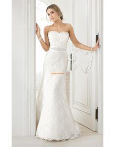 Kirche Herz-Ausschnitt Reißverschluss Brautkleider 2014