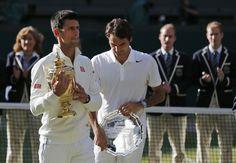 Djokovic-Federer rivalry awaits latest chapter in Wimbledon final