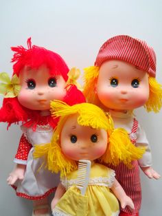 Vintage Gumdrop and Friends Doll Set 1981 by WylieOwlVintage