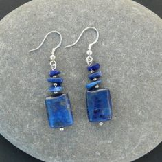 Lapis Lazuli Dangle Earrings €8.00