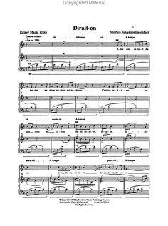 Dirait-on from Les Chansons des Roses