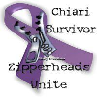 I admire and respect every Chiari patient and brain surgery survivor. I know just how much Chiari Malformation changes your life and anyone going through this (and its related conditions because of Chiari) is a hero in my book <3  www.conquerchiari.org