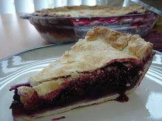 For the Love of Food!: Gluten Free Blueberry Pie (gf, dairy free, soy free)
