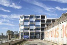 TANK Architectes, Julien Lanoo · The Parking silo & business hive