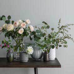 Vi får aldrig nog av fina vaser eller blommor.
