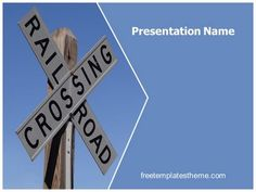 Download #free #Railway #Crossing #PowerPoint #Template for your #powerpoint #presentation. This #free #Railway #Crossing #ppt #template is used by many professionals.