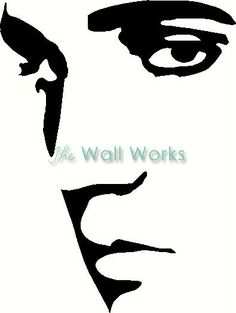 elvis presley silhouettes | Elvis Vinyl Decal | Car Decal | People Decals | The Wall Works