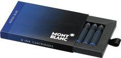 Refill Montblanc Royal Blue Ink Cartridges