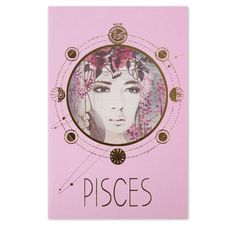 Pisces Card   With Envelope