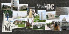 washington dc scrapbook layouts | Washington, DC